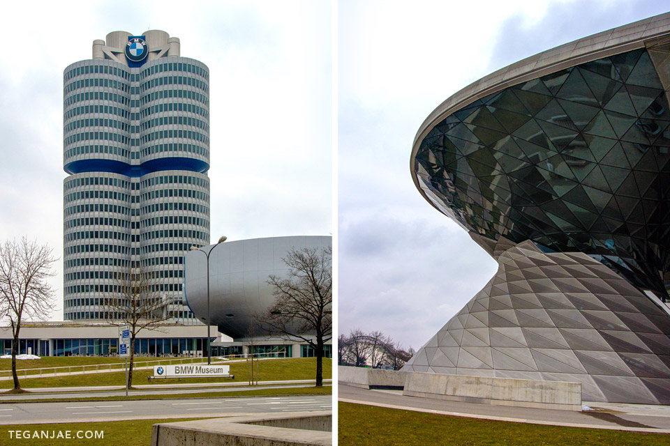 BMW Welt Museum in Munich, Germany