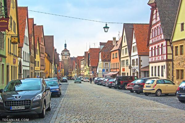 Rothenburg ob der Tauber in Germany