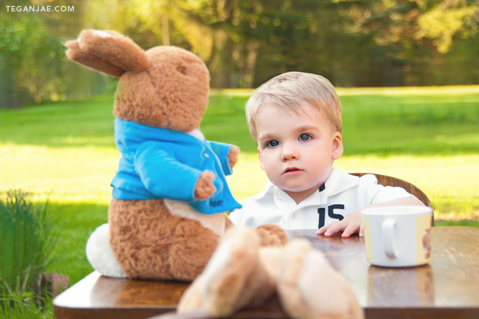 Peter Rabbit Party and Story time with Greyson
