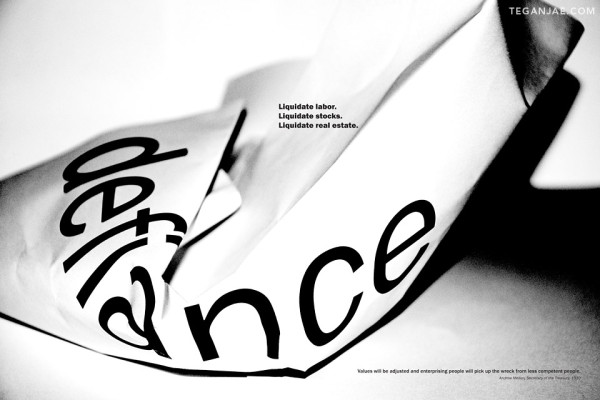 Defiance Poster Design - Tegan Jae