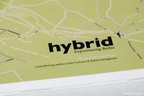 Hybrid – Experiencing Berlin book design
