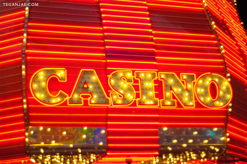 Casino Fremont Street Experience in Las Vegas, Nevada by Tegan Jae