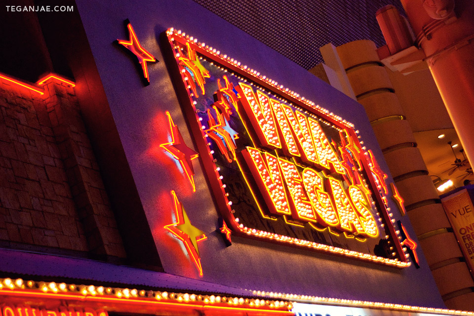 Viva Vegas Fremont Street Experience in Las Vegas, Nevada by Tegan Jae